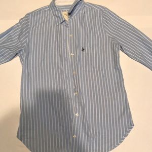 A&F long sleeve button up